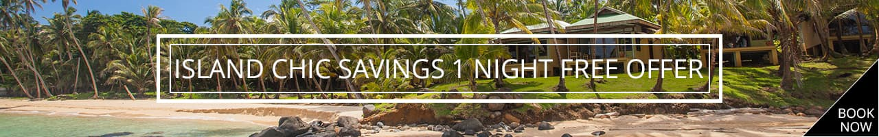 Island Package Chic 1 night free