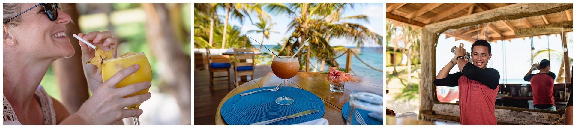 Beach-menu